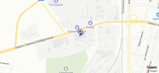 Металлобаза-Караганда, производственно-торговая компания на карте