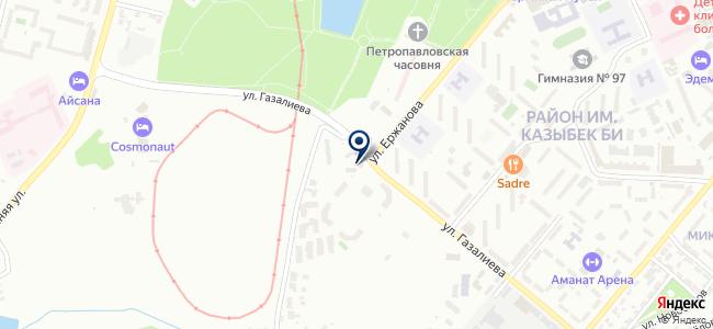 ПанТехСнаб, ТОО, торговая компания на карте