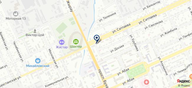 ПромСнабТрейд, ТОО, торговая компания на карте