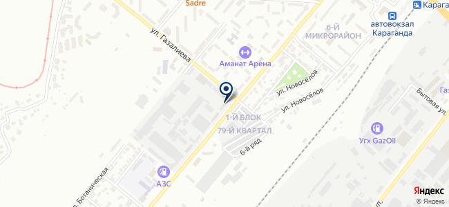 Ecostatus PLUS, ТОО, торговая компания на карте