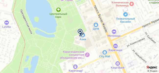 Line, салон света на карте
