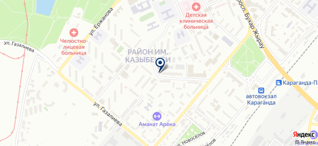 Kaztherm, ТОО, торговая компания на карте
