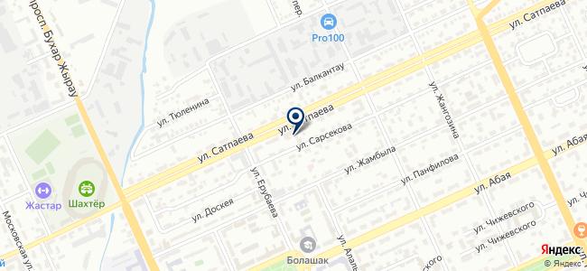 UniTrade Company, торговая компания на карте