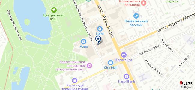 Электрооборудование, торговая компания на карте