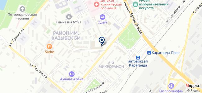 FINE TECHNIX-KZ, ТОО, производственно-торговая компания на карте
