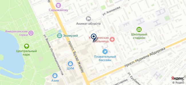 Инструмент-Профи, ТОО, торговая компания на карте