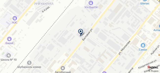 Автобусный парк №3, ТОО на карте