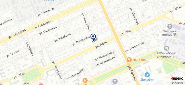 Leica Geosystems Kazakhstan, ТОО, торговая компания, филиал в г. Караганде на карте