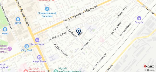 Теплолюкс, ТОО, торгово-монтажная компания на карте