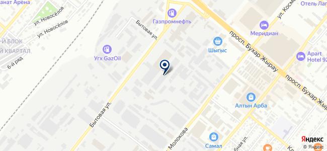 Манас, транспортная компания на карте
