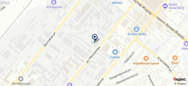 Тумар Строй, торговый центр на карте