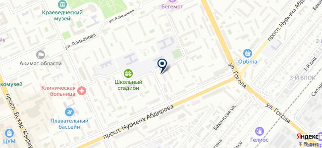ТВС ПЛЮС, ТОО, торговая компания, официальный дилер на карте