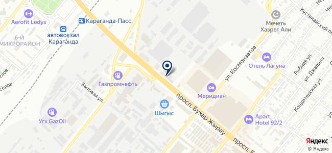 Электро-Снаб, ТОО, торговая компания на карте