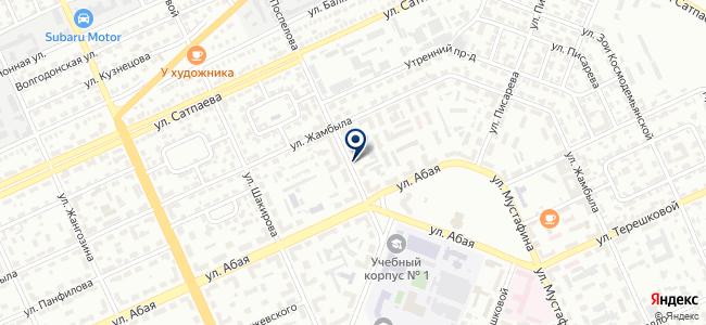 Энергострой компани XXI, ТОО, электроэнергетическая компания на карте