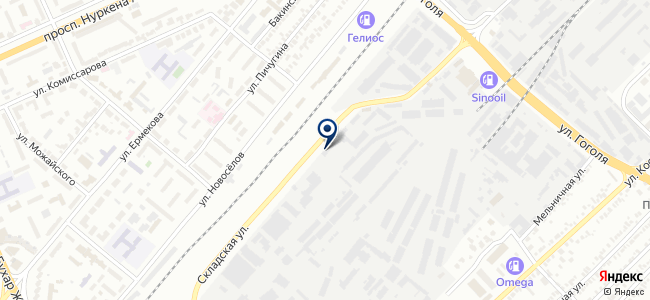 ТехноОпт Караганда, ТОО, торговая компания на карте