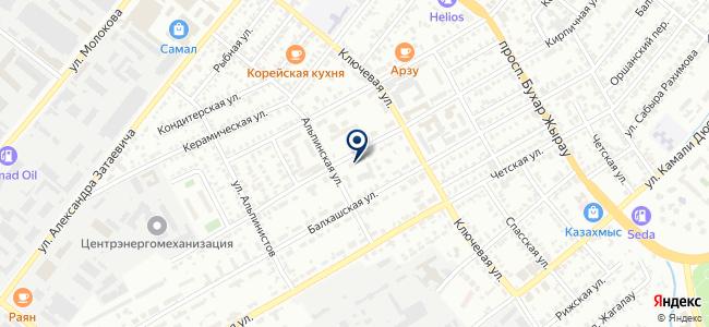 Атлант-2000, ТОО, монтажно-транспортная компания на карте