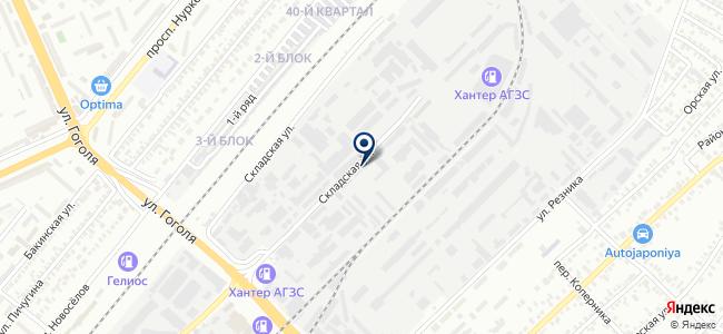 STC Com, ТОО, торгово-монтажная компания на карте