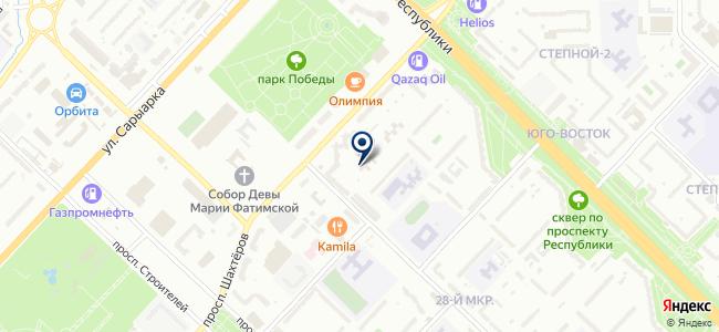 TRADE ИНВЕСТ LINE, ТОО, торговая компания на карте