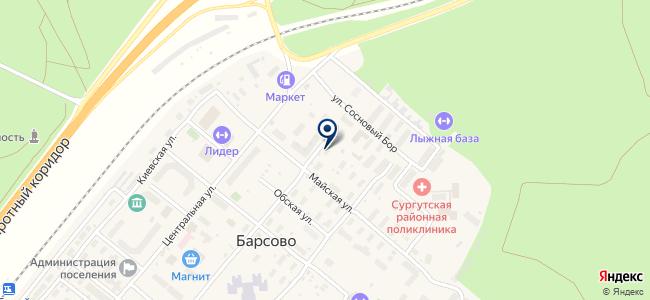 СМКУ на карте