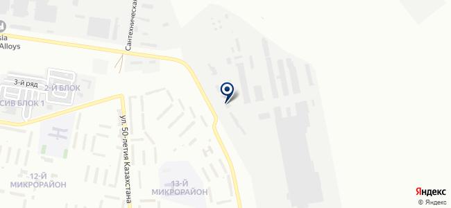ELTO, торгово-монтажная компания, АО Карагандинский завод электротехнического оборудования на карте