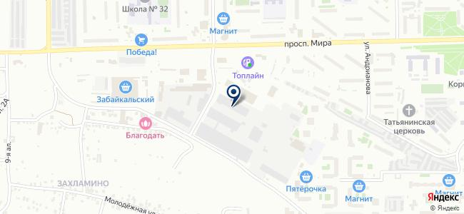 Сибэлектрощит, ООО на карте