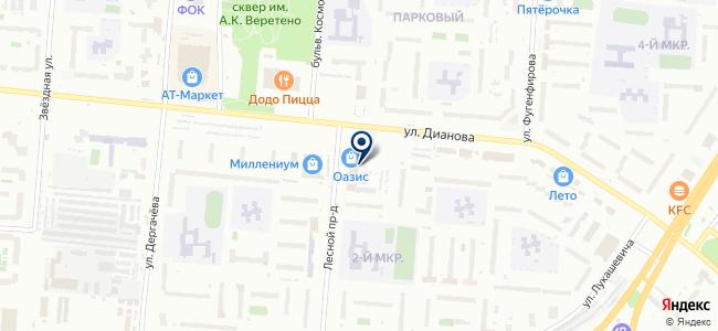 АтЭл-Сервис на карте