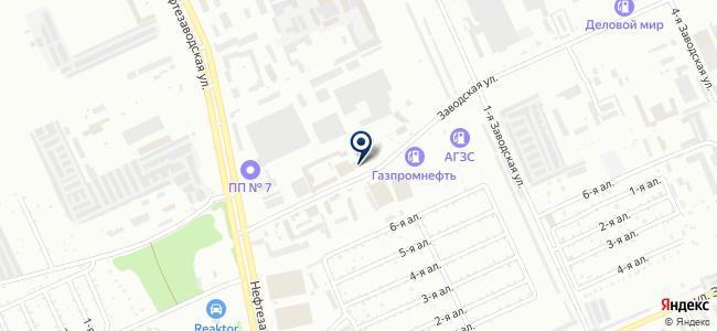 АвантажСнаб на карте