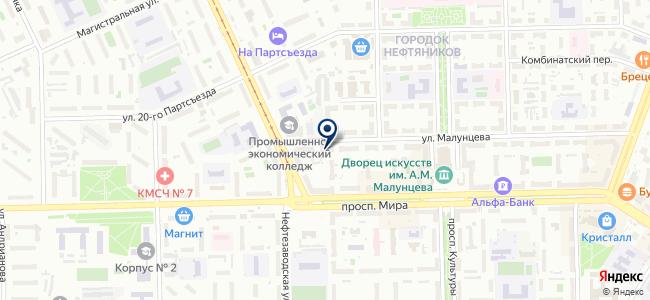 Бюро Промышленной Автоматизации, ООО на карте