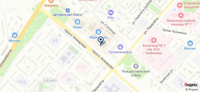 Магазин радиодеталей и пультов на карте