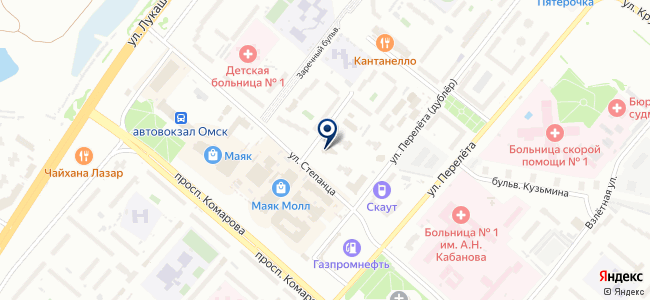 Камоцци Пневматика, ООО на карте