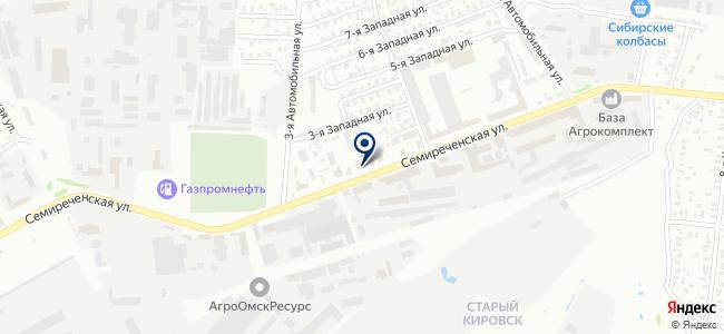 Магазин техники на карте