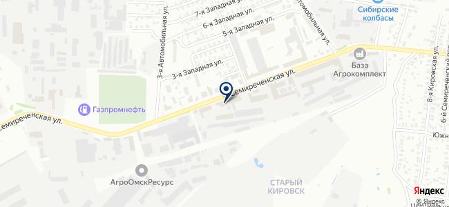 Сибирский инструмент, ООО на карте