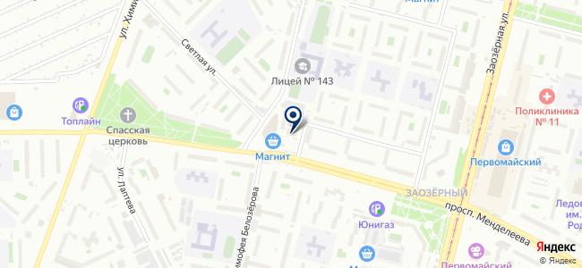 Palitra на карте