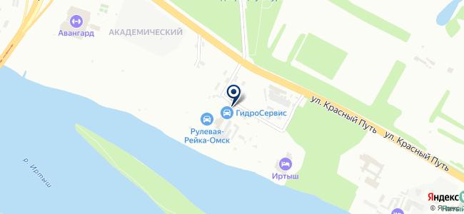АНГОР на карте