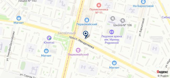 ЭльТЕХ на карте