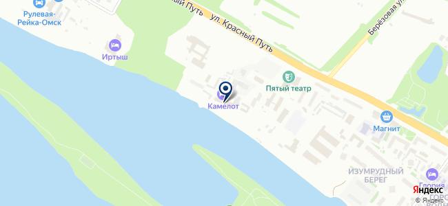 Омск-Инсервис, ЗАО на карте