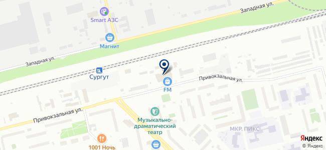 Магазин радиотоваров и антенного оборудования на карте