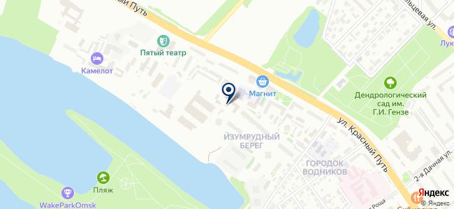 Инженерный центр А. Кабанова на карте