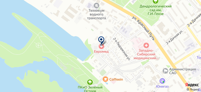 Ринэл на карте