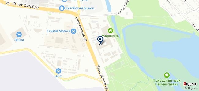 ТЕХНОСФЕРА на карте