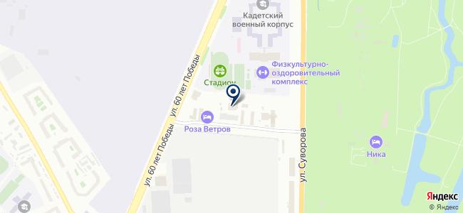 Технологии защиты, ООО на карте
