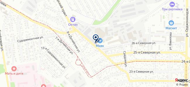 Уран, ООО на карте