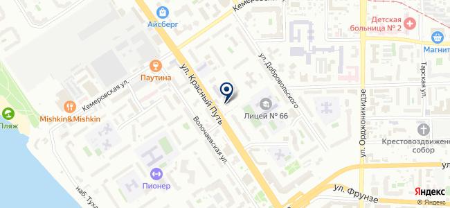 Омскглавснаб, ОАО на карте