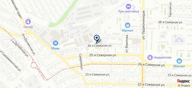 Сибпромизолит, ООО на карте