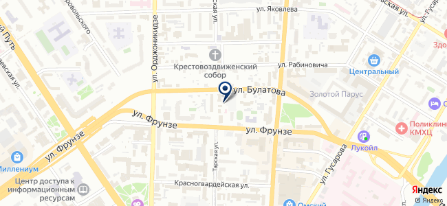 Азовский строительный отдел, ООО на карте
