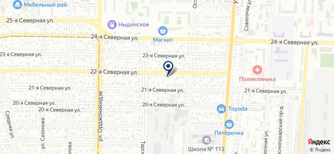 DEVI-Омск на карте