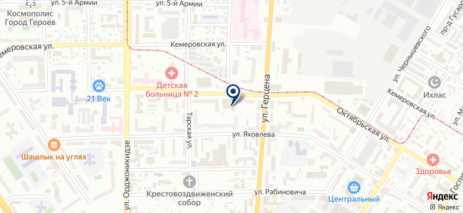 Графит, ЗАО на карте