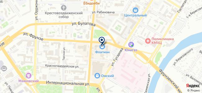 СИБУС на карте