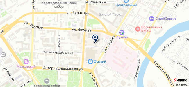 Ресурсосберегающие технологии-Омск, ООО на карте
