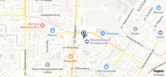 Электромонтаж сиб, ООО на карте